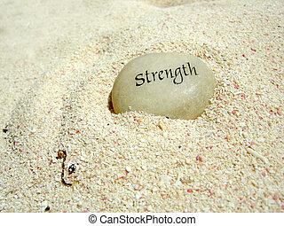 力量, 石頭