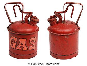 加侖, 气体