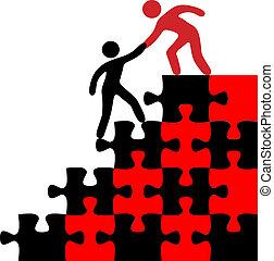 加入, 發現, 人, 解決, 幫助