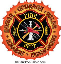 勇氣, 消防人員, 榮譽, 勇猛