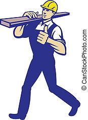 匠人, 運載, 木匠, 木材, 木材