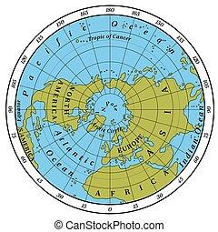 半球, 北方