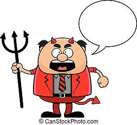卡通, 叫喊老闆, 魔鬼