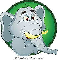 卡通, 大象