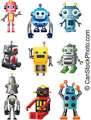 卡通, 机器人