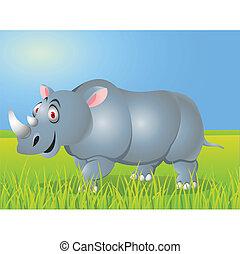 卡通, 犀牛