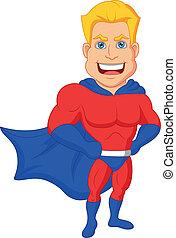 卡通, superhero, 矯柔造作