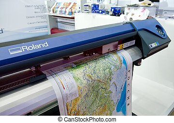 印刷品, 地圖