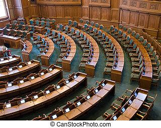 參議院, 內部, 議會, 大廳