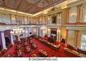 參議院, 分庭, 加利福尼亞