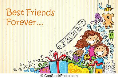 友誼, 天