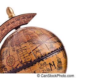 古董, 小, 全球, 向上關閉