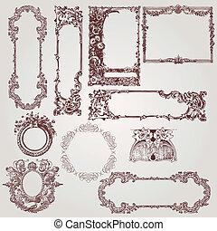 古董, 框架, victorian