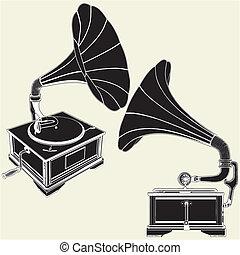 古董, 留聲機
