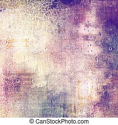 古董, 藍色, 不同, (violet);, 背景。, 顏色, 葡萄酒, 紫色, 黃色, (beige);, gray;, textured, patterns: