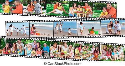 吃, 家庭, &, 健康, 父母, 生活方式, 孩子, 愉快