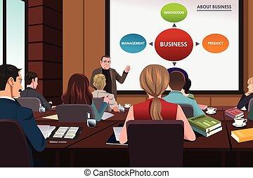商務研討會, 人們