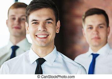商業界人士, 仔看, 照像機。, 肖像