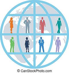 商業界人士, 全球, 隊, 世界, 資源