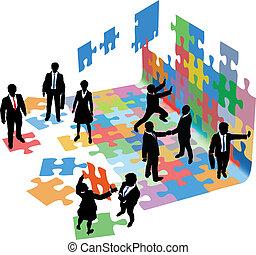 商業界人士, 啟動, 問題, 解決, 建造