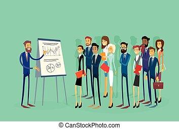 商業界人士, 活動挂圖, 財政, 組, businesspeople, 表達