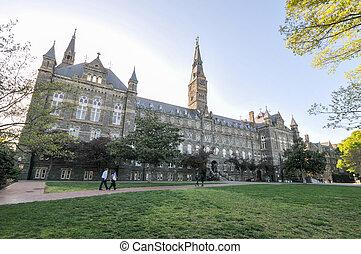 喬治城大學, -, 華盛頓, dc
