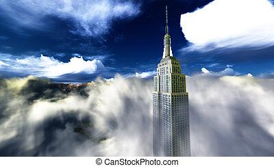 單個, 摩天樓