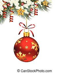 單個, 裝飾品, 聖誕節