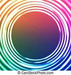 圈子, 光, 摘要, 背景。, 矢量, astral