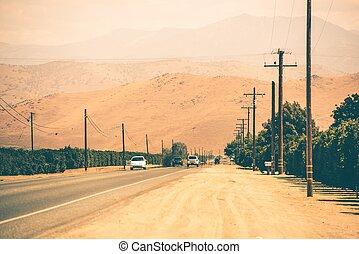 國家, 加利福尼亞, 高速公路