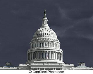 國家, 團結, 州議會大廈, 雷雨