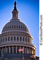 國家, 州議會大廈, 團結, 美國