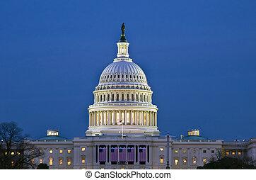 國家, 建築物, 團結, 州議會大廈