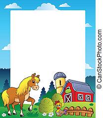 國家, 框架, 4, 紅的谷倉
