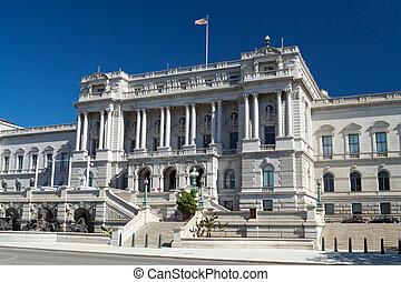 國會, 華盛頓特區, 圖書館, 建築學, beaux-arts