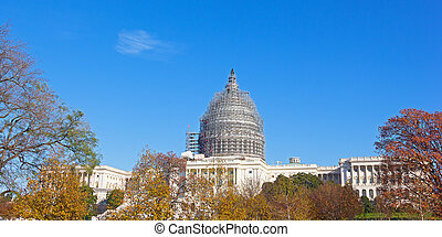 圓屋頂, 腳手架, 美國美國國會大廈