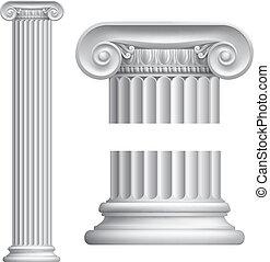 圓柱, 愛奧尼亞