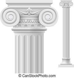 圓柱, 羅馬