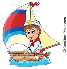 圖像, 3, 主題, 水手