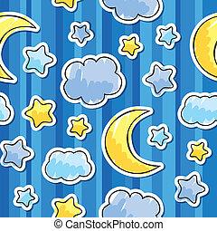 圖案, 天空, 夜晚