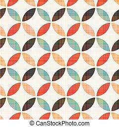圖案, 幾何學, seamless, 圓