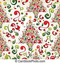 圖案, 樹, 聖誕節