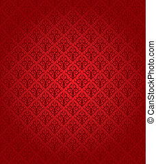 圖案, (wallpaper), seamless, 紅色