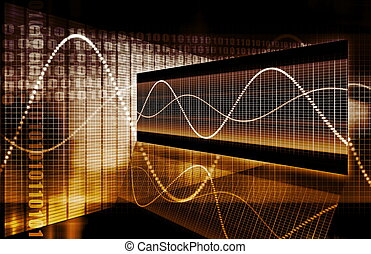 圖表, 技術, 財政, 電子數据表