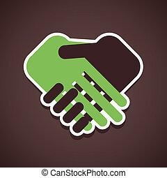 圖象, 握手
