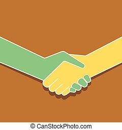 圖象, 握手, 設計