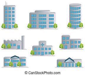 圖象, 集合, 建築物