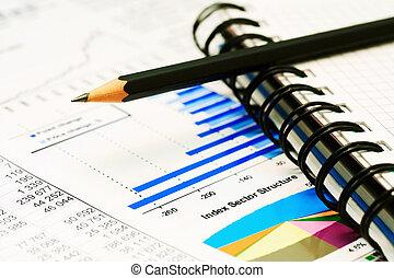 圖, 圖表, 市場, 股票