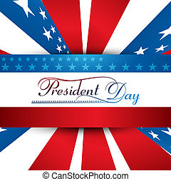 團結, 鮮艷, 插圖, 國家, 矢量, 背景, 總統, 美國, 天