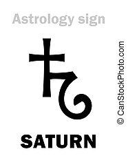 土星, astrology:, 行星